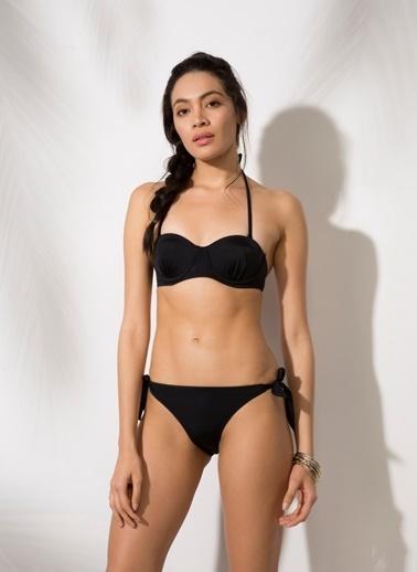 T-Box Bikini Üst Siyah